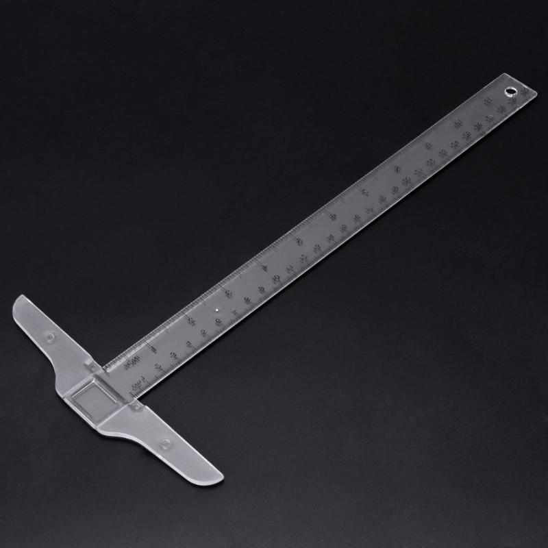 30cm 12 Quot Plastic T Square Metric Ruler Cm Inch Double Side